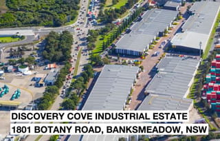 Video Discovery Cove Industrial Estate